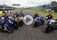 The Evolution Of The Yahama YZF R1 – All The Project Designers On The Track!!