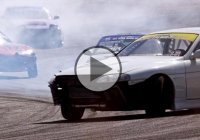 Drifting Madness At The All Star Bash Toy Drive – Just Drift!