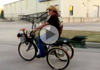 Farmtruck & AZN Are Up To No Good Again – Check Out Their Rocket-Propelled Bike!