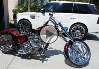 Danny Trejo's Custom Build Machete Bike!