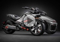 Motorcycle Car – 2015 Can-Am Spyder F3 is not a bike nor a car – it's both