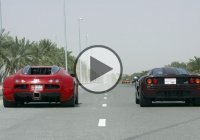 Bugatti Veyron vs McLaren F1 – The Ultimate Drag Race!!