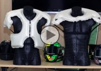 Safety Comes First – Motorcycle Suit With Built-In Airbags!