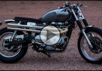 Beautifully Redesigned 2006 Triumph Scrambler!