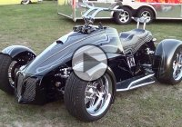 "Custom Street Quad Equipped With A LS2 V-8 – ""The Shredder""!"
