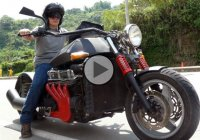 "5000cc Bike – ""Big Bang 5000"" with V8 engine!!!"
