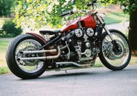 The AlfaBeast – Custom Made Motorcycle Made From Alfa Romeo, Harley Davidson And Kawasaki ZXR-750 Parts!!