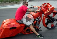 The coolest 30″ bagger of all times! – by Dirty Bird Concepts!