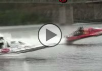 """Problem child"", one of the fastest hydro drag-boats with speed of 261.33mph!!!"