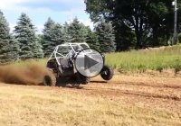 Polaris RZR with a Yamaha Apex turbocharged engine that's making 300 HP!
