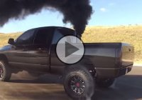 Incredible Dodge 800+ HP 6.7 Cummins burnout!