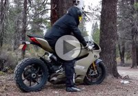 Ducati 1199 Panigale TerraCorsa, turned into a 195 bhp dirtbike!