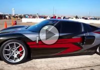 The 2000 HP Ford GT that broke the Texas Mile speed record, twice!
