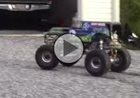RC Grave Digger Monster Truck with a Stinger 609 mini V8!