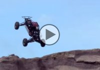Handmade CBR 929 mini buggy doing crazy jumps at a Formula Offroad event in Sweden!