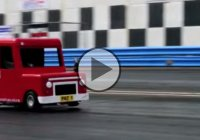 World's fastest postman pat van passed a 1/4 mile in 14.5 seconds!