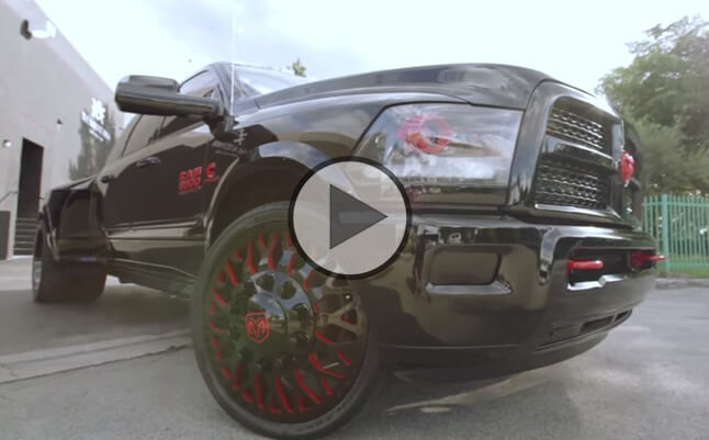 Synthetic Vs Regular Oil >> A 2014 Dodge RAM 3500 Dually black and red edition!