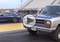 """The Ramaro"", a 1988 Dodge RAM, against a 2013 Nissan GTR!"