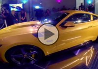 A 2015 Saleen 302 SSC Black Label Mustang making 750 HP!!!