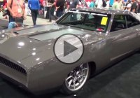 """Sliced"" 1968 Dodge Charger! The only stock feature – the tires!"