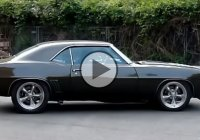 Custom built 1969 Chevrolet Camaro SS Pro Touring with LS7 engine!