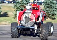 A mini monster truck with a V8 engine making 600 HP!!!
