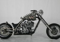 The Coolest Custom Chopper Comes From China – The Skull Rider!!