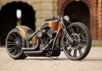 Harley Davidson Thunderbike – Production-R Custom Bike!
