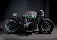 The Best Looking BMW Police Bike Ever – VTR'S Blown R80!
