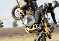 "Chris ""Teach"" Mcneil Aboard The Twisted Throttle Equipped BMW F800GS!!"