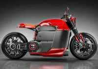 Tesla Model M – Electric Motorcycle Concept!