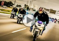 Insane Motorcycle Stunts On Highways – The Murder Biz Ride 2015!!