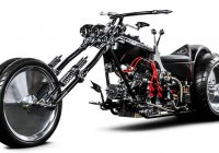 Twisted Evil – An Unusual & Badass Four-Wheeled Chopper!!