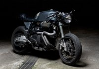 The Sartorie Meccaniche's Belva Cafe Racer – American Muscle With An Italian Flavor!