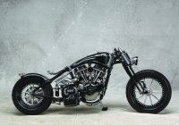 Bender, Black & Steel By Fine Custom Mechanics – Custom Motorcycle For The Ages!!