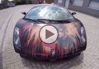 Color changing Lamborghini Gallardo – All You Need Is Water!