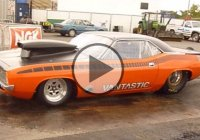 This is a sick 8 second Cuda and it's producing a sick V8 roar!!!