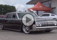 This custom 1964 Lincoln Continental turned heads at Street Car Takeover Houston!