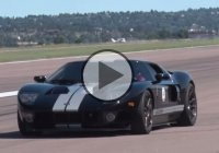 A 1500 HP Twin Turbo Ford GT stopped the show at Shift S3ctor!