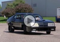 Mad Max fan turns his 1972 Ford Falcon into the Original Interceptor Car!!