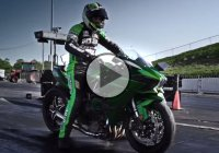 One of a kind supercharged Kawasaki Ninja H2 hybrid!!!