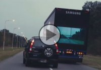 """The Safety Truck"", a smart and original invention by Samsung!"
