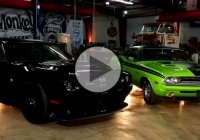A 1971 Dodge Challenger R/T combined with the 2015 Scat Pack edition!