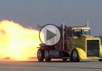 Shockwave is the world's fastest truck and it's powered by 3 jet engines!!!
