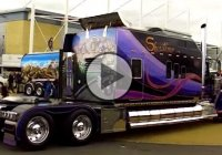 """Showtime"", because how else would you call this spectacular W900 Kenworth truck?"