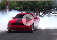 Powerful sleeper Mustang doing 8's at the Street Car Takeover Oklahoma City!