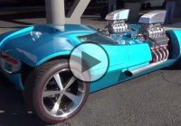 "Hot Wheels have made a ""Twin Mill"" life size replica and it was shown at SEMA 2014!"