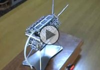 The smallest V12 engine ever made, a tiny masterpiece!