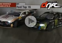 Drifting contest between Vaughn Gittin Jr and Conrad Grunewald!
