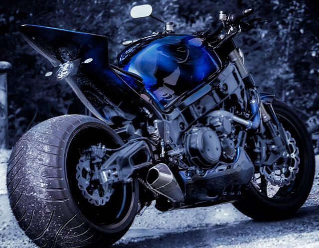 Wicked Suzuki Hayabusa Streetfighter By Destroyer Customs